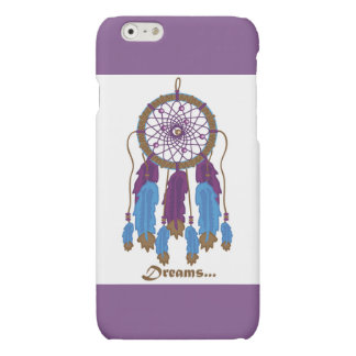 Dreamcatcher with purple background i-phone 6 case iPhone 6 plus case