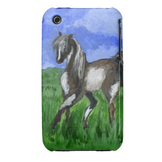 Dreamer pinto horse art iPhone 3 Case-Mate case