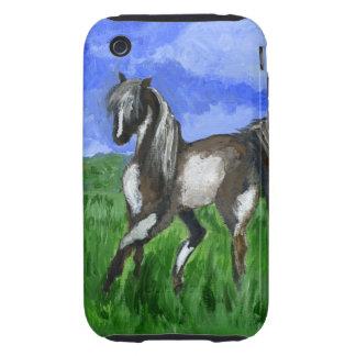 Dreamer pinto horse art iPhone 3 tough cover
