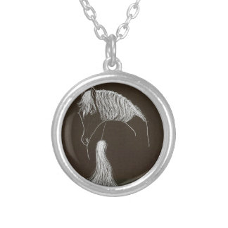 DREAMER SILVER PLATED NECKLACE