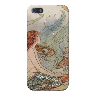 """Dreamer...The Mermaid"" iPhone 5 Covers"