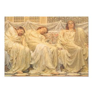 Dreamers by Albert Joseph Moore, Victorian Art Custom Announcements