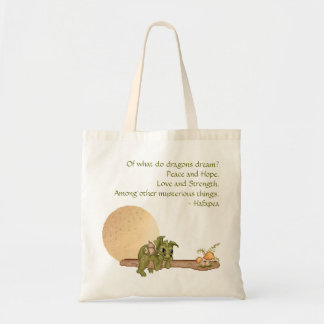 Dreaming Dragon Tote Bag
