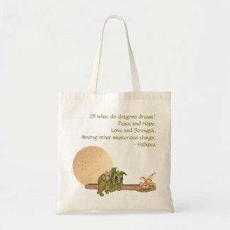 Dreaming Dragon Budget Tote Bag