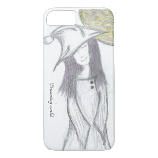 Dreaming girl iPhone 7 case