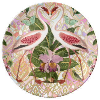 Dreaming in Flamingo Plate