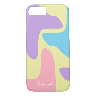 Dreaming in Pastel Camouflage iPhone 8/7 Case