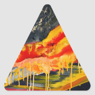 dreaming life model triangle sticker