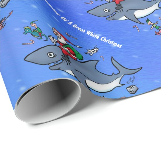 Dreaming of A Great White Xmas Wrapping Paper