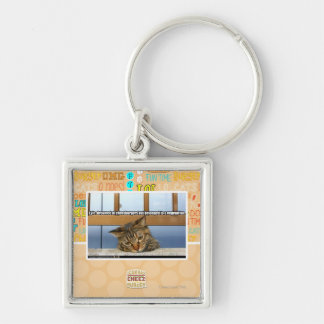 Dreaming of Cheesburgers Key Ring