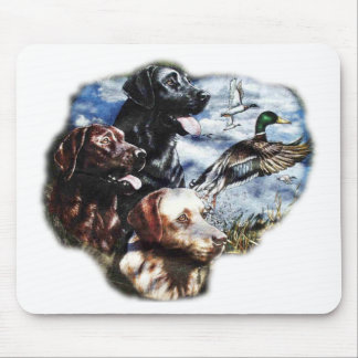 Dreaming of Duck Hunting Mouse Mats