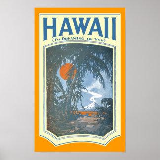 Dreaming of Hawaii Poster