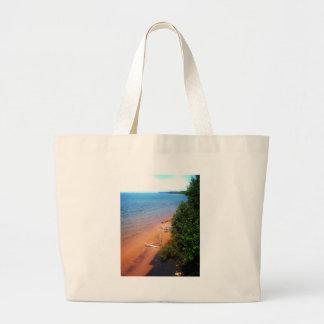 Dreaming of Lake Michigan Jumbo Tote Bag