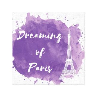 Dreaming of Paris - Canvas Wall Art