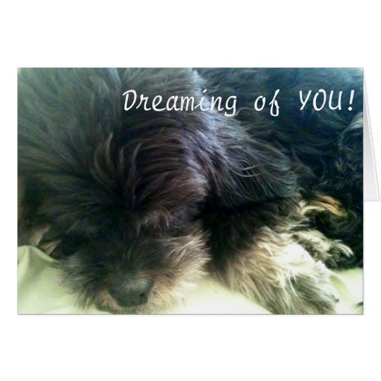 DREAMING OF YOU - LOVE CARD