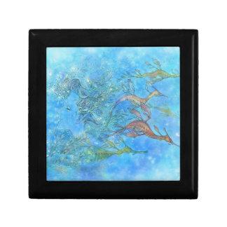 Dreaming on Aquamarine Tides Gift Box