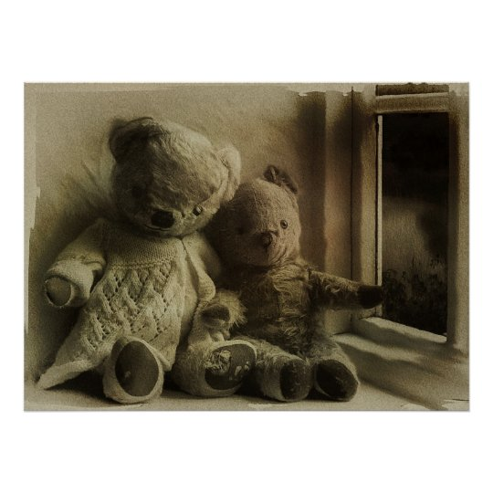 Dreaming Teddy Bears Poster