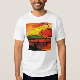 Dreaming The Day Mens Shirts