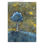 Dreaming tree art modern painting for dreamers