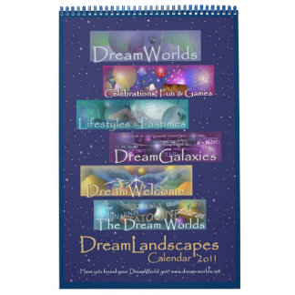 DreamLandscapes Calendar 2011