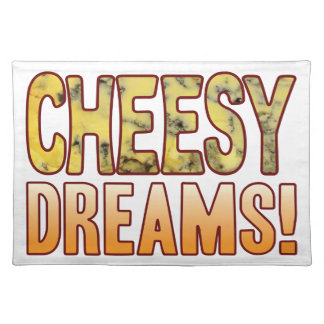 Dreams Blue Cheesy Placemat