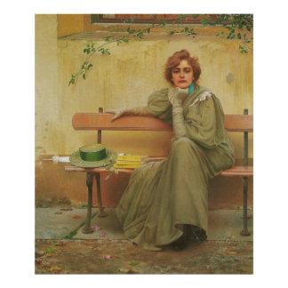 Dreams by Vittorio Matteo Corcos 1896 Poster