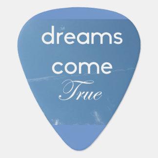 Dreams come true Guitar pick