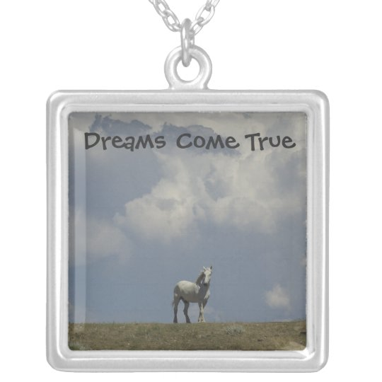 Dreams Come True Silver Plated Necklace