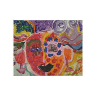 Dream's goddess canvas print