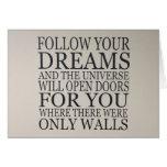 dreams greeting cards