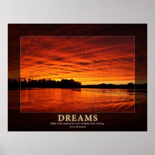 Dreams - Ideas in Motivation Poster