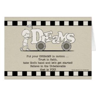 Dreams in Motion Card