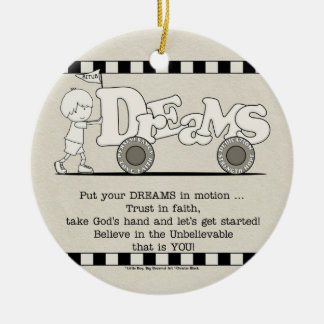 Dreams in Motion Christmas Ornament