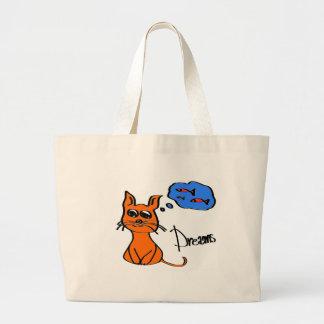 Dreams Large Tote Bag