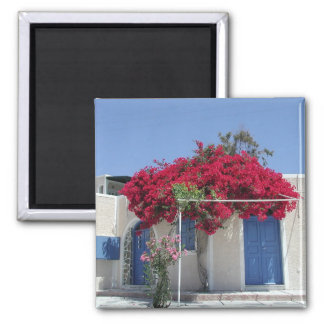 Dreams of Greece Square Magnet