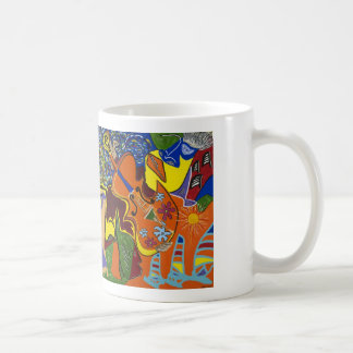 """Dreams of Jamaica"" White Mug"