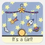 Dreams of Space Mobile Announcement Sticker