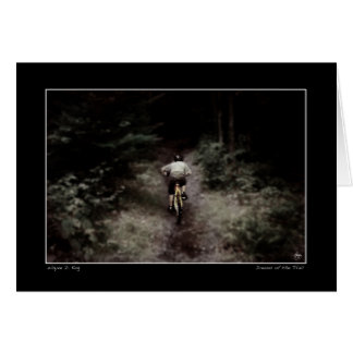 Dreams of the Trail Greeting Card