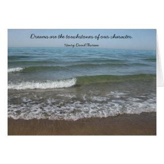 Dreams Thoreau Graduation Card