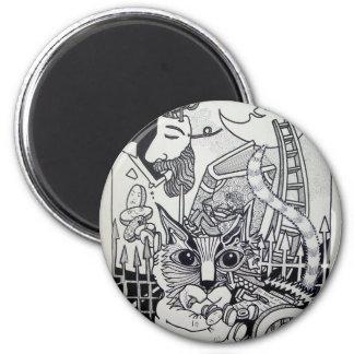 Dreamscape 10-1 by Piliero Fridge Magnets