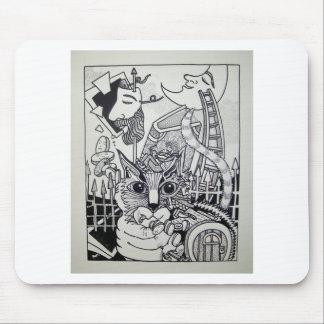 Dreamscape 10-1 by Piliero Mouse Pad