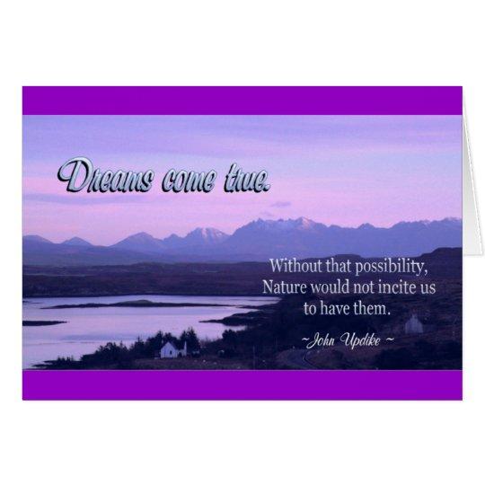 DreamsComeTrue Card