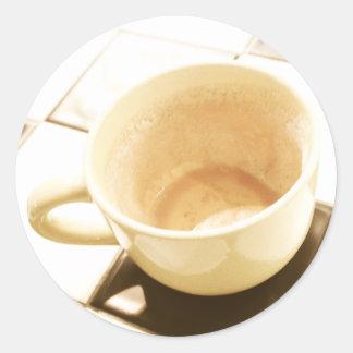Dreamt Coffee Round Sticker