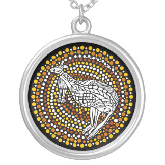 Dreamtime Silver Plated Necklace