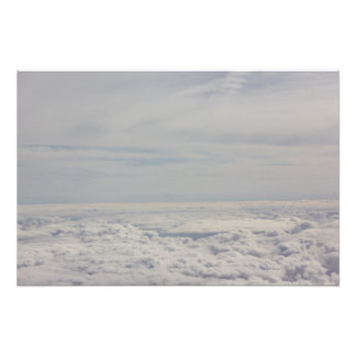 Dreamy Above the Clouds Poster