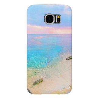 Dreamy beach samsung galaxy s6 cases
