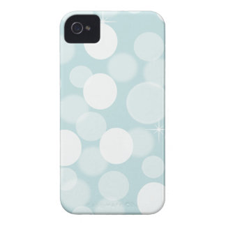 Dreamy Blue Bokeh iPhone 4 Case-Mate Cases