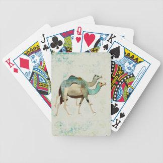 Dreamy Blue Camels Card Deck