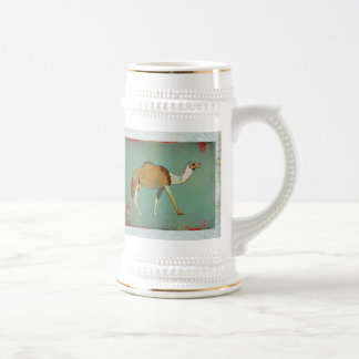 Dreamy Camel Monogram Stein Coffee Mugs
