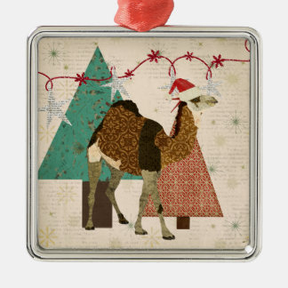 Dreamy Camel Starry Night Ornament